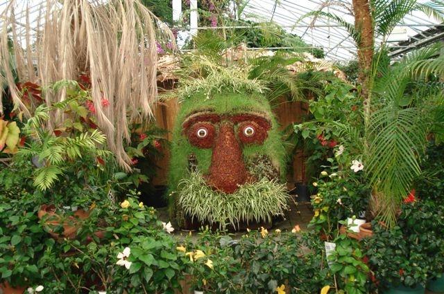 Garden Of Eden Greenhouse In Hveragerdi Iceland