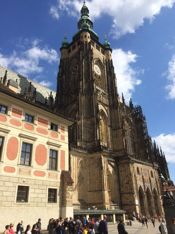 Main tower of St Vitus Cathedral
