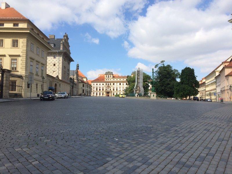 Prague Castle exterior - 2