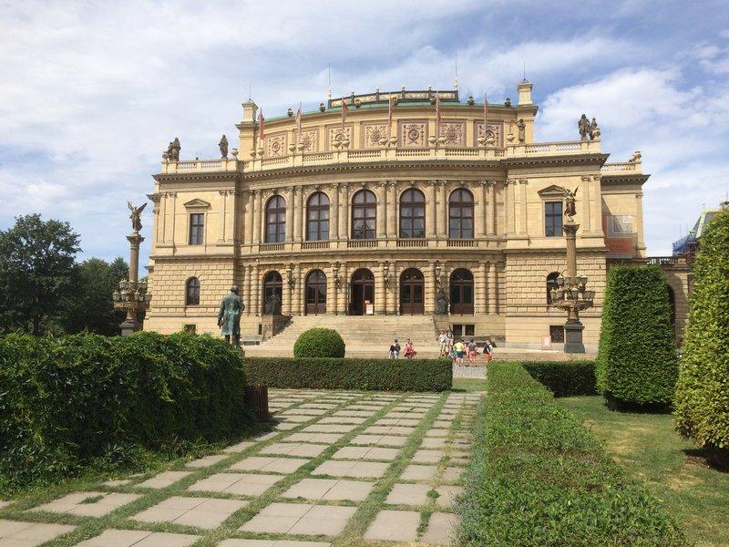 The Rudolfinum Concert Hall & Art Gallery