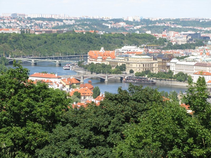 View from Petrin Hill - 1