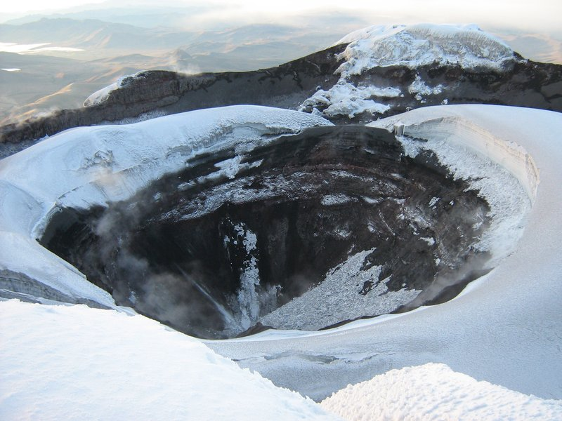 Cotopaxi Krater ...