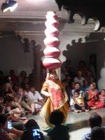 Rajasthanische Tanzvorführung
