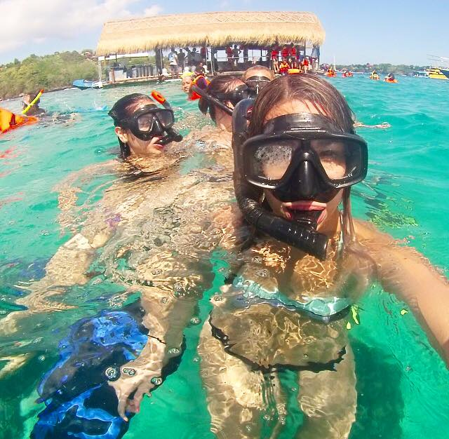 SNORKELLING IN INDONESIA.