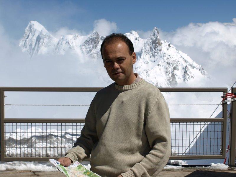 At Chamonix Mont Blanc