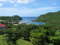 Marigot Bay - St. Lucia - from above