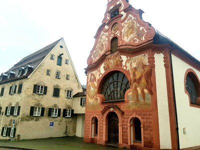 Historic buildings Fussen