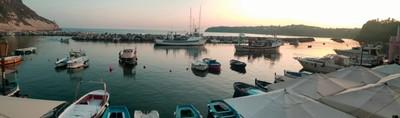 Procida Marina Corricella balcony view
