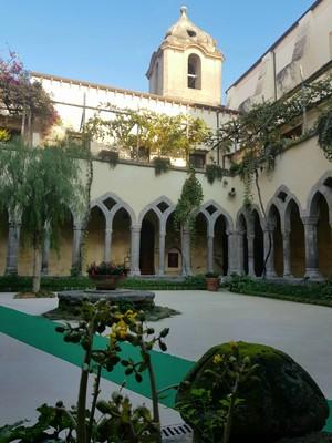 Sorrento church courtyard