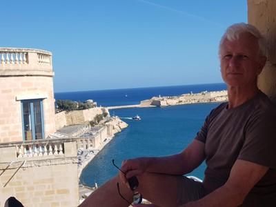 M - Valletta - overlooking breakwater