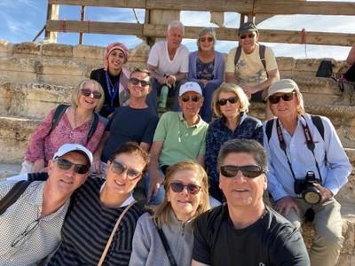 Jerash group photo