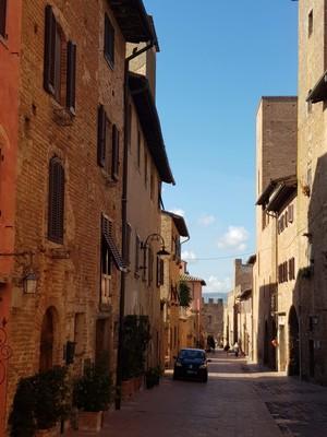 Streetscape Certaldo