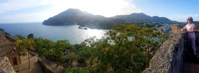 View from Castella Aragonese2