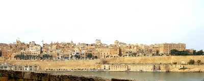 M- Valletta from Fort St Angelo
