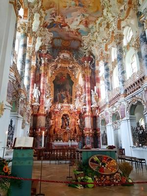Wieskirche interior