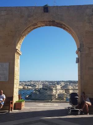 M- Valletta from Upper Barrakka gardens