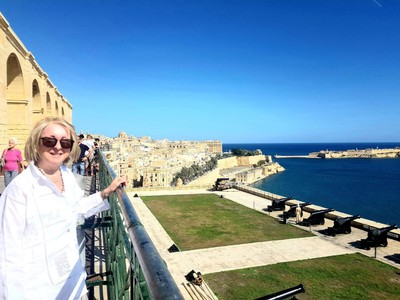 M- Valletta from Saluting Battery