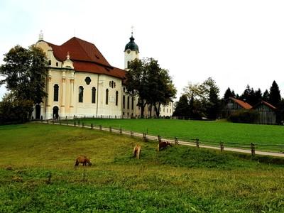 Wieskirche exterior