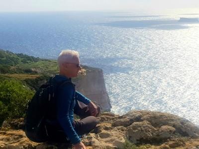 M- David Dingli cliffs