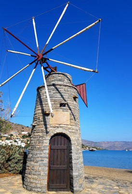C - traditional Cretan windmill