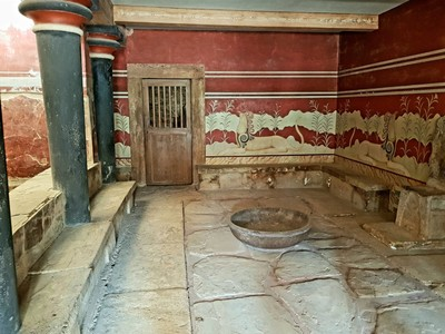 C- Frescoes Knossos