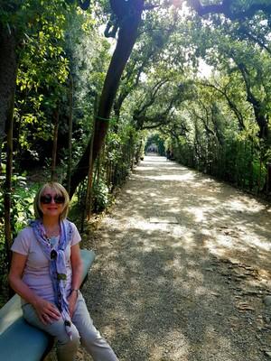 Archway Boboli gardens Florence