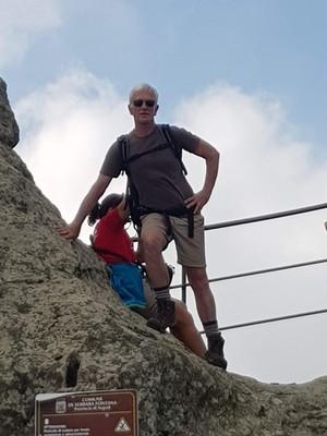 David-top of Mt Epomeo