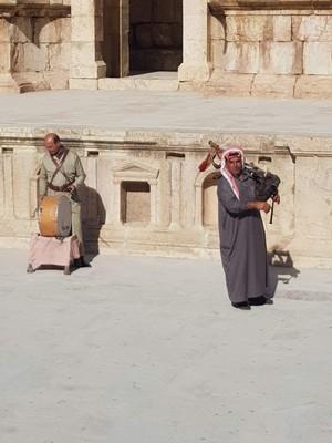 J-Jerash Theatre musicians
