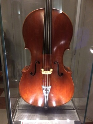 18th century Stradivari violin  Galleria dell'Accademia