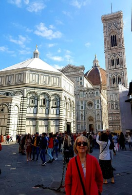 In front of Duomo Florence
