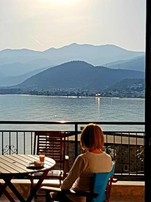 C-balcony breakfast Stalida