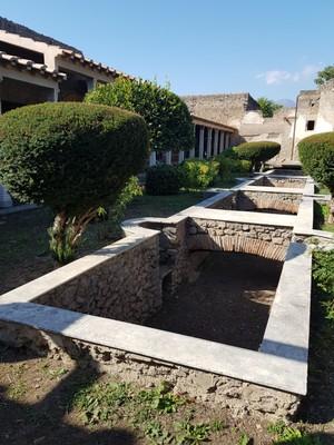 Palace garden2 Pompei