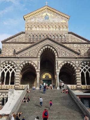 Amalfi cathedral outside