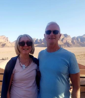 J - S and D Wadi Rum