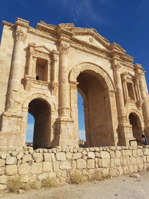 J - Jerash entrance gate