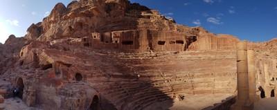 J- Petra Roman theatre