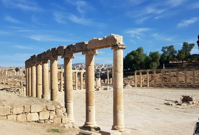 J- Jerash Forum Cardo