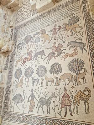 J- Mt Nebo church mosaics