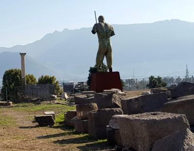 Statue Daedalus Pompei