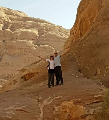 J- Wadi Rum Sue and David2