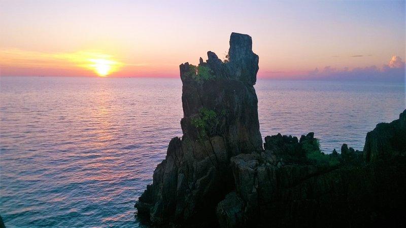 Sunset Chai Chet beach