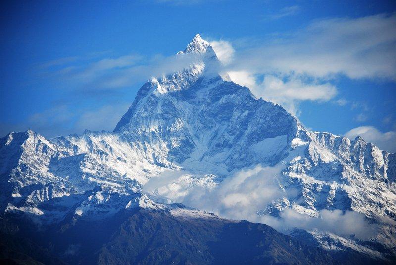 Machapuchare, the sacred mountain