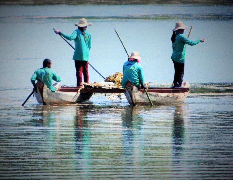 Lake near Banteay Srei