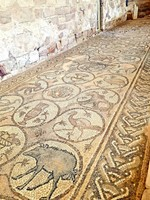J-Petra Byzantine church mosaics