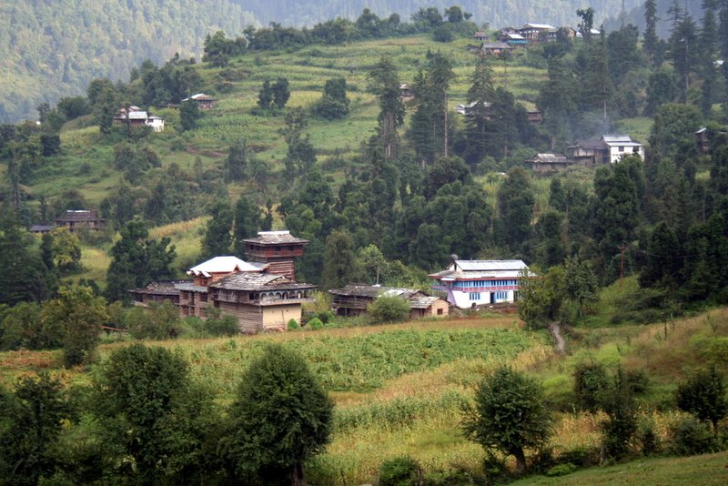 A typical Kullu Village