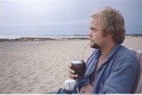 Drinking Yerba Mate in La Paloma, Rocha, Uruguay