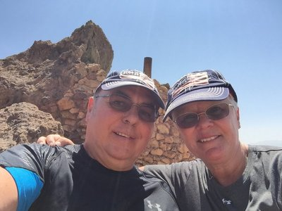 Selfi in the Calico Ghost Town