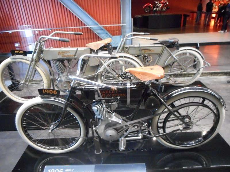 One of the first production Harley Davidsons