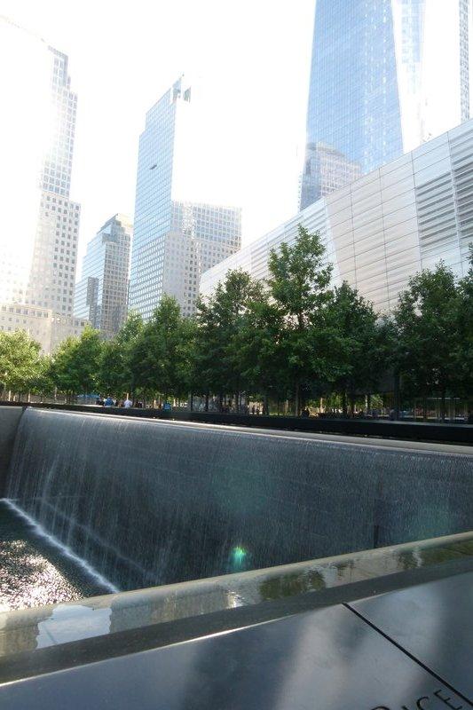 Memorial at Ground Zero