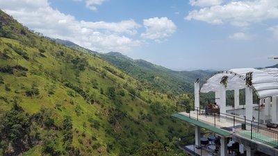 Hotel Ella Mount Heaven, view over the Ella Gap